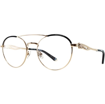 Judith Leiber Couture Adore Metal Eyeglasses