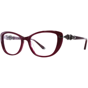 Judith Leiber Couture Passion Plastic Eyeglasses