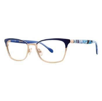 5e593b89b10 Custom Clip-On Eligible Lilly Pulitzer Eyeglasses