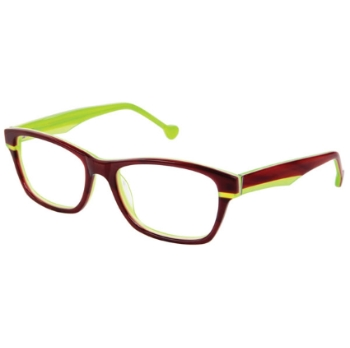 Lisa Loeb Rose Colored Times Eyeglasses