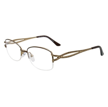 MDX - Manhattan Design Studio S3317 w/Magnetic Clip-ons Eyeglasses