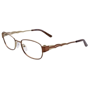 MDX - Manhattan Design Studio S3325 w/Magnetic Clip-ons Eyeglasses