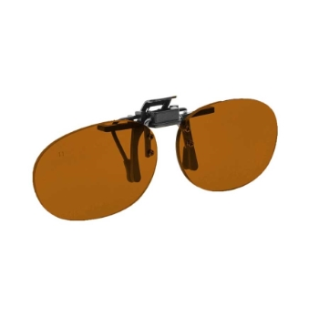 NoIR #16 Pediatric Oval Flip-Up Clip-On Sunglasses