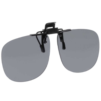 NoIR #21 Large Oval Flip-Up Clip-On Sunglasses