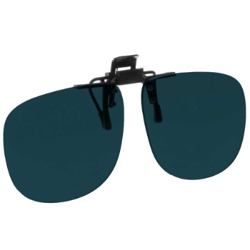 NoIR #21 Large Oval Flip-Up Clip-On - Continued Sunglasses