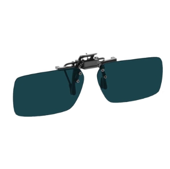 NoIR #22 Large Rectangular Flip-Up Clip-On - Continued Sunglasses
