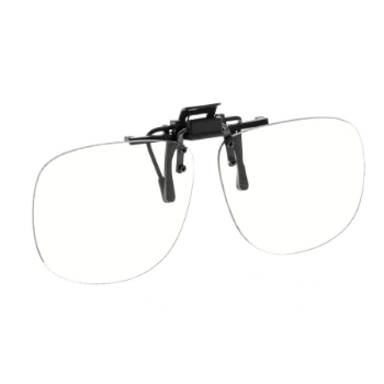NoIR #23 Medium Oval Flip-Up Clip-On Sunglasses