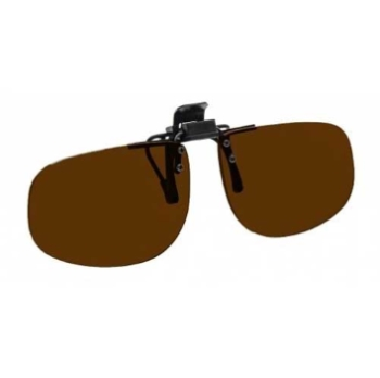 NoIR #24 Large Oval Flip-Up Clip-On - Continued Sunglasses