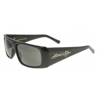 Black Flys STOOPID FLYS/ SLIGHTLY STOOPID COLLABORATION POLARIZED Sunglasses