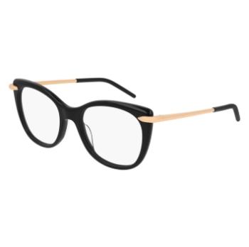 Eyeglasses Pomellato PM 0013 O 001 BLACK //
