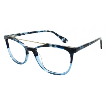 Pure Color Bubbly Eyeglasses