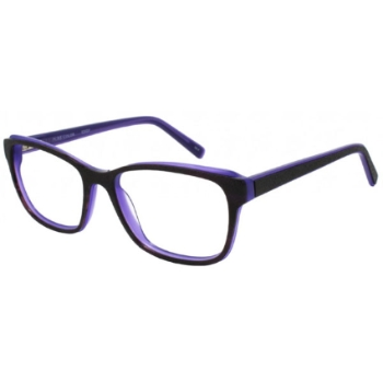 Pure Color Edgy Eyeglasses