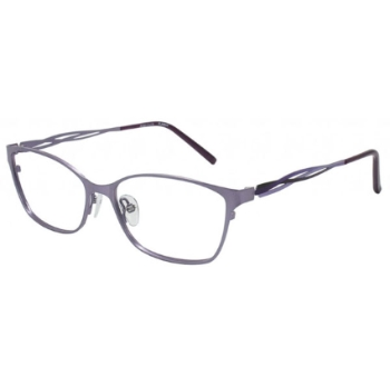 Pure Color Flashy Eyeglasses