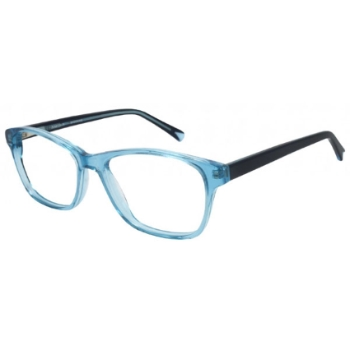 Pure Color Shocking Eyeglasses