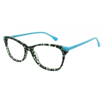Pure Color Knockout Eyeglasses