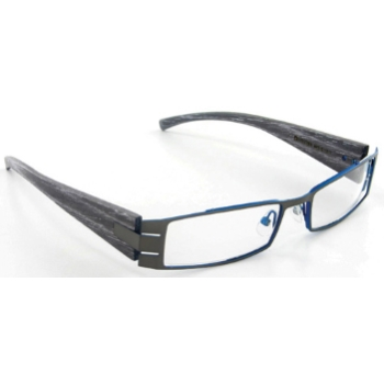 Evolution Art RE008 (Wood Temples) Eyeglasses