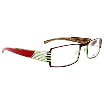 Evolution Art RE019 (Wood Temples) Eyeglasses