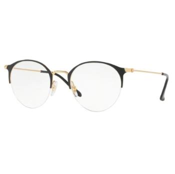 f8b57591f3 Mens Blue Ray-Ban Custom Clip-On Eligible Eyeglasses