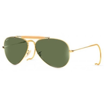 Ray-Ban RB 3030 Outdoorsman with cable Temples Sunglasses
