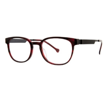 Red Rose Diamante Eyeglasses