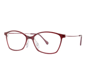 Red Rose Donatella Eyeglasses