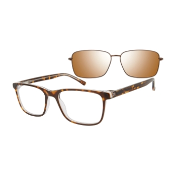 Revolution w/Magnetic Clip Ons Mankato w/Polarized Clip-On Eyeglasses
