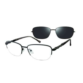 Revolution w/Magnetic Clip Ons Selma w/ Polarized Clip-On Eyeglasses