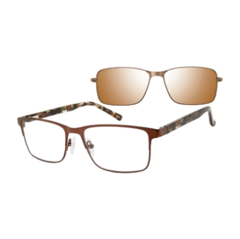 Revolution w/Magnetic Clip Ons Shelton w/Polarized Clip-On Eyeglasses