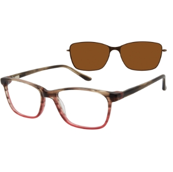 Revolution w/Magnetic Clip Ons Bristol w/Magnetic Clip-on Eyeglasses