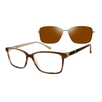 Revolution w/Magnetic Clip Ons Ellsworth w/Magnetic Clip-on Eyeglasses