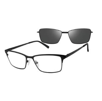 Revolution w/Magnetic Clip Ons Huron w/Magnetic Clip-on Eyeglasses