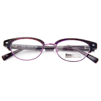Revolution w/Magnetic Clip Ons REV749 w/Magnetic Clip-on Eyeglasses