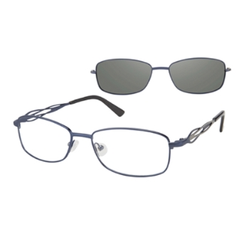 Revolution w/Magnetic Clip Ons REV760 w/Magnetic Clip-on Eyeglasses
