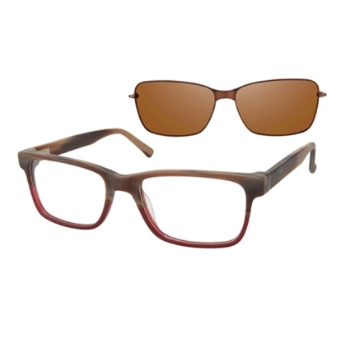Revolution w/Magnetic Clip Ons REV786 w/Magnetic Clip-on Eyeglasses