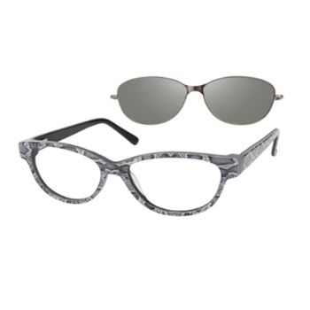 Revolution w/Magnetic Clip Ons REV788 w/Magnetic Clip-on Eyeglasses