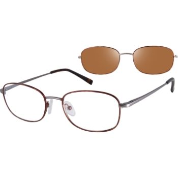 Revolution w/Magnetic Clip Ons Reno w/Polarized Clip-On Eyeglasses