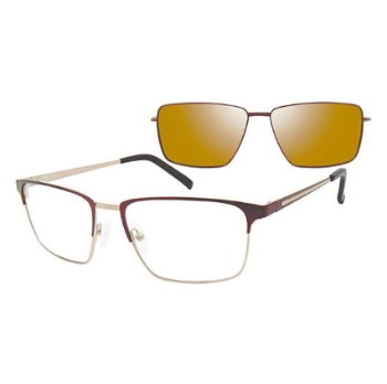 Revolution w/Magnetic Clip Ons Sanford w/Polarized Clip-On Eyeglasses