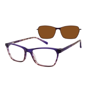 Revolution w/Magnetic Clip Ons Santa Ana w/Magnetic Clip-on Eyeglasses