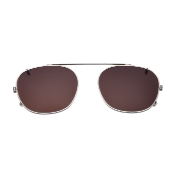 Savile Row Quadra Clip-On (Polarized) Eyeglasses