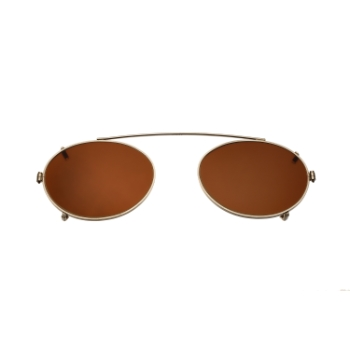 Savile Row Oval Clip-On (Polarized) Eyeglasses