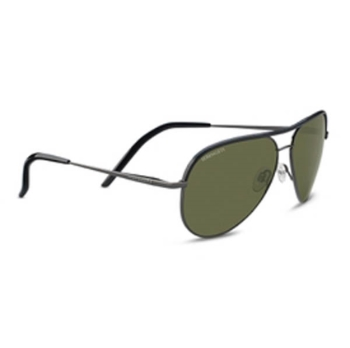 Serengeti Carrara Leather Sunglasses