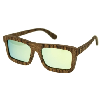 Spectrum Wood Burrow Sunglasses