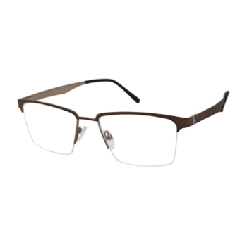 Stepper Stainless Steel 40134 STS Eyeglasses