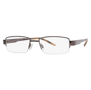 b6fe7efaae6 Stetson Semi-Rim Gunmetal Bi-Focal Progressive Eyeglasses