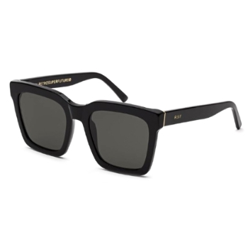 Super Aalto IVSY UR1 Black Sunglasses