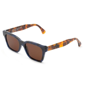 Super America I08L 8BA Blue Havana Sunglasses