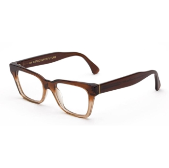 Super America II77 978 Faded Bordeaux & Crystal Large Eyeglasses