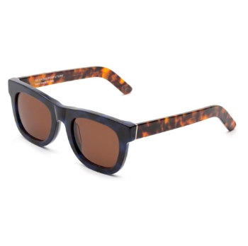 Super Ciccio IJ4R 29K Blue Havana Sunglasses