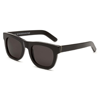 Super Ciccio IPO1 J6C Black Sunglasses