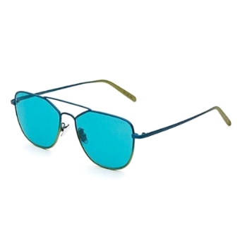 Super Daze IS2E FTJ Turquoise/Lime Sunglasses